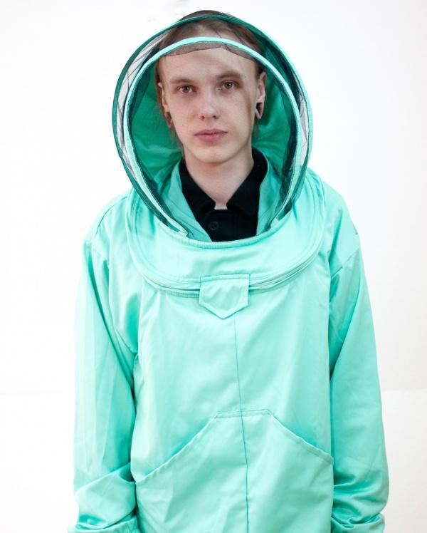 """Куртка """"Евро"""" с лицевой сеткой"""