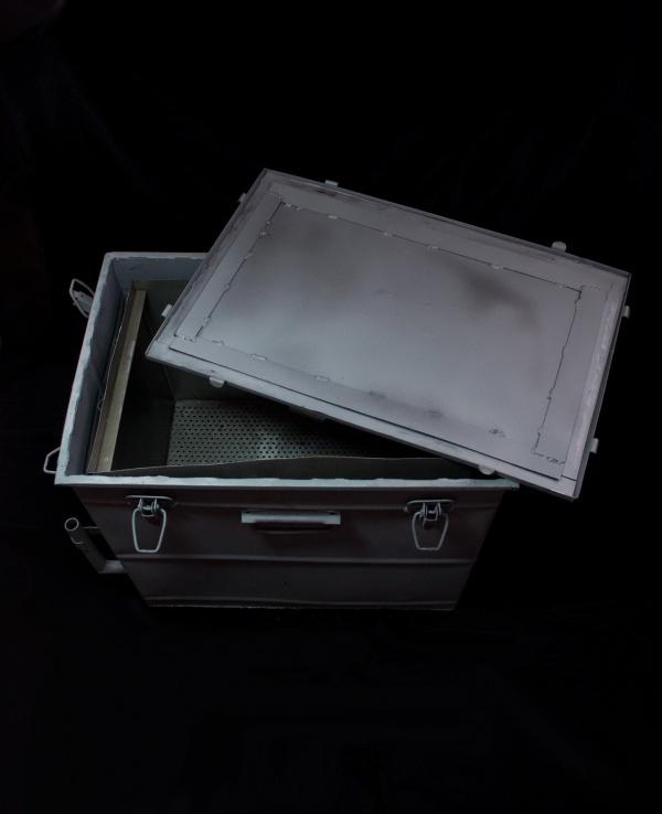 Воскотопка-ящик, паровая.