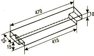 Верхний брусок рамки